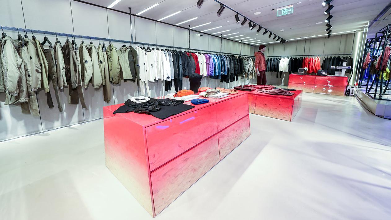 C.P. Company Beijing store