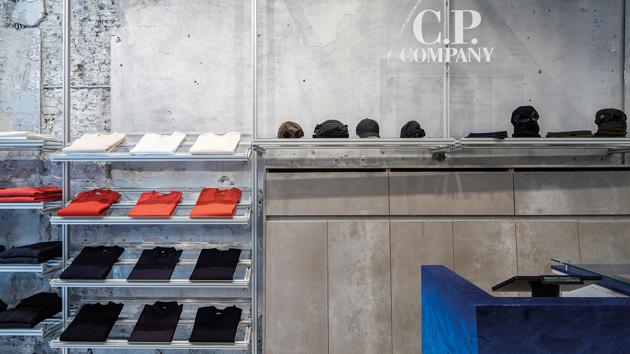 C.P. Company Amsterdamstore