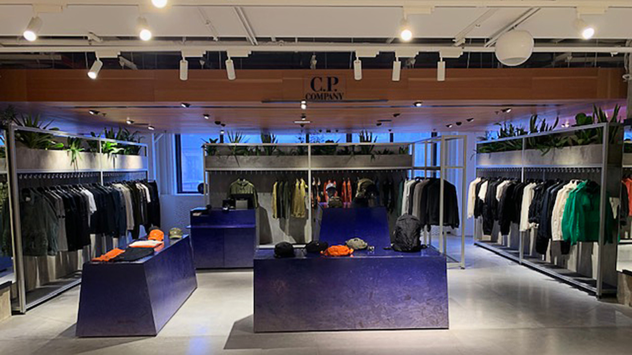 C.P. Company at Printemps Haussmann