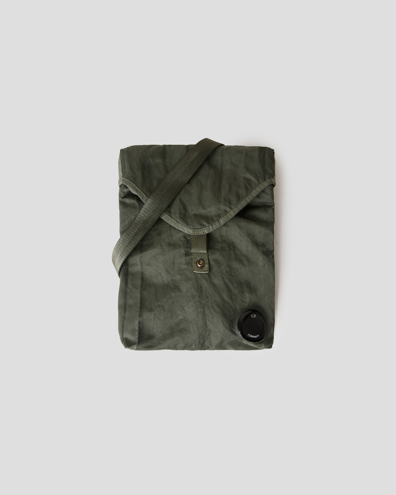 Nylon B Garment Dyed Crossbody Bag